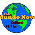 Logo da emissora Rádio Mundo Novo FM Cultural