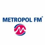 Logo da emissora Metropol 94.8 FM