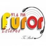 Logo da emissora Radio Furor Stereo 91.6 FM