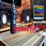 Logo da emissora Rádio Gomes FM