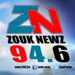 Logo da emissora Zouk Newz 94.6 FM