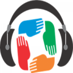Logo da emissora Rádio Copacabana FM Gospel