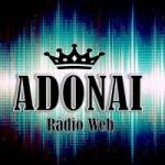 Logo da emissora Adonai Rádio Web