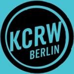 Logo da emissora KCRW Berlin 104.1 FM