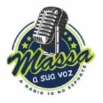 Logo da emissora Rádio Massa A Sua Voz