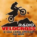 Logo da emissora Rádio Velocross