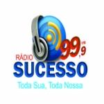 Logo da emissora Rádio Sucesso 99.9 FM