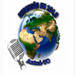 Logo da emissora Rádio Dimensão FM