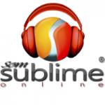 Logo da emissora Rádio Som Sublime Online