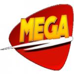 Logo da emissora Rádio Mega 99.5 FM