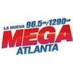 Logo da emissora WCHK La Nueva Mega 1290 AM 96.5 FM