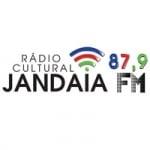 Logo da emissora Rádio Cultural Jandaia 87.9 FM