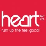 Logo da emissora Radio Heart Hampshire and West Sussex 96.7 FM