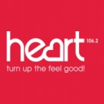 Logo da emissora Radio Heart London 106.2 FM