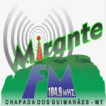 Logo da emissora Rádio Mirante 104.9 FM