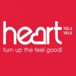 Logo da emissora Radio Heart Sussex 102.4 FM