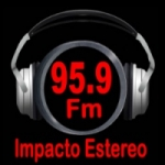 Logo da emissora Impacto Stereo 93.7 FM
