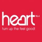 Logo da emissora Radio Heart Torbay 96.4 FM
