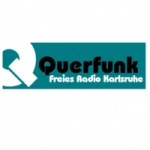 Logo da emissora Querfunk 104.8 FM