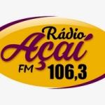 Logo da emissora Rádio Açaí FM