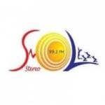Logo da emissora Sol Stereo 99.1 FM