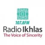 Logo da emissora Radio Ikhlas 107.8 FM