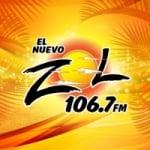 Logo da emissora Radio El Nuevo Zol 106.7 FM - WXDJ