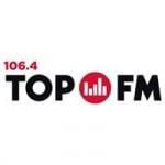 Logo da emissora Radio Top 106.4 FM