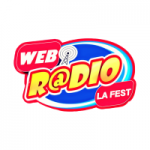 Logo da emissora Rádio La Fest