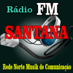 Logo da emissora Rádio FM Santana