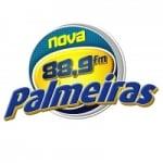 Logo da emissora Rádio Nova Palmeiras 88.9 FM