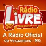 Logo da emissora Rádio Livre 87.9 FM