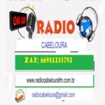 Logo da emissora Rádio Cabeloura FM