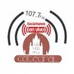Logo da emissora La Voz De La Catedral 107.7 FM