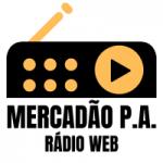 Logo da emissora Mercadão Rádio Web