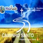Logo da emissora Rádio Caminho Santo