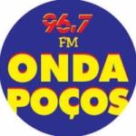 Logo da emissora Rádio Onda Poços 96.7 FM