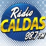 Logo da emissora Rádio Caldas 98.7 FM