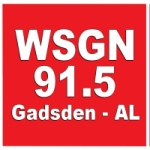 Logo da emissora WSGN 91.5 FM