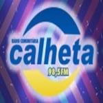 Logo da emissora Rádio Calheta 98.5 FM