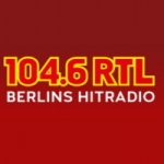 Logo da emissora RTL 104.6 FM