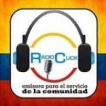 Logo da emissora Radio Click Colombia