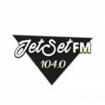 Logo da emissora Jet Set 104.0 FM
