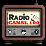 Logo da emissora Rádio Canal 100