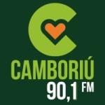 Logo da emissora Rádio Camboriú 90.1 FM