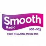 Logo da emissora Smooth Radio 100-102 FM