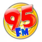 Logo da emissora Rádio Sucesso 95 FM