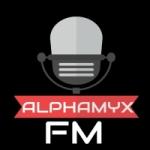 Logo da emissora Rádio Alphamyxfm