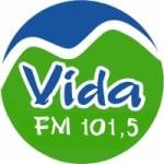 Logo da emissora Rádio Vida 101.5 FM