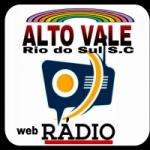 Logo da emissora Rádio Alto Vale